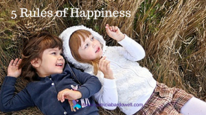 Happiness Is Your Responsiblity – The 5 Rules of Happiness