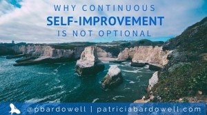 Why Continuous Self-Improvement is Not Optional