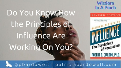 "Do You Know How the Principles of Influence Are Working On You? (""Influence"" by Robert Cialdini)"