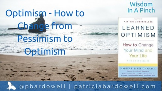 "Optimism – How to Change from Pessimism to Optimism (""Learned Optimism"" by Martin E. P. Seligman)"